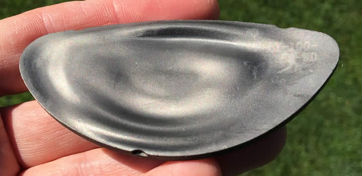 Close of of the interanl side of the Callaway Epic Flash Club Face