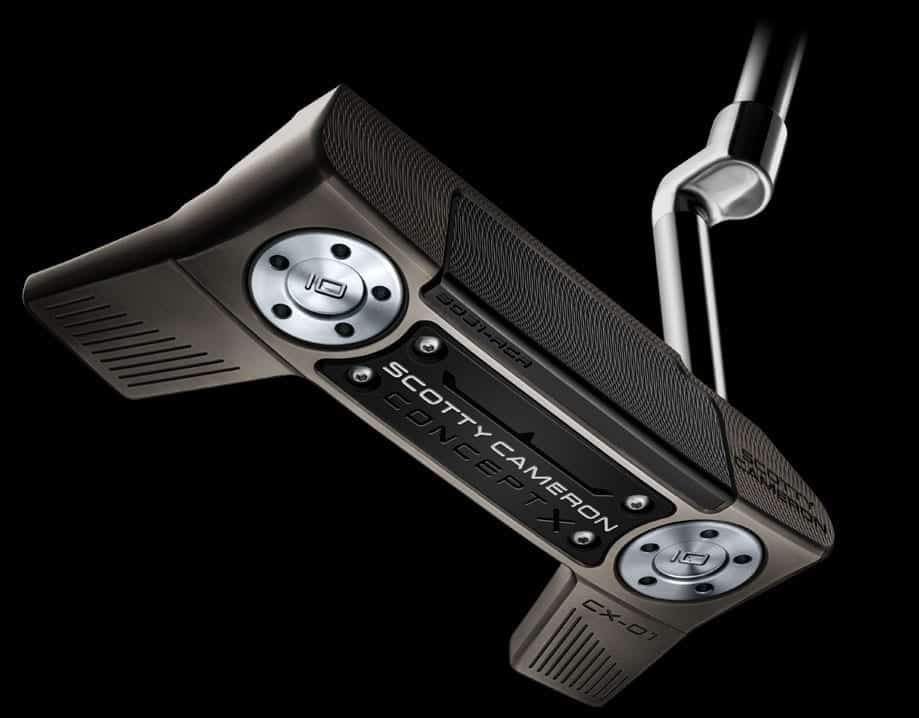 Underside view of Scotty Cameron Concept X Putter