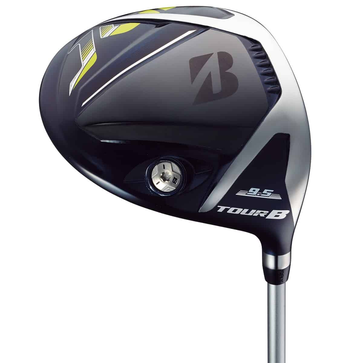 The Tour B JGR Driver by Bridgestone Golf with a white background