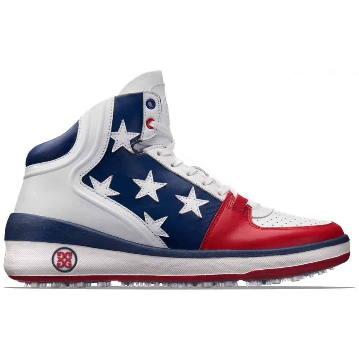 GFORE Crusader Golf Shoe American Flag Theme