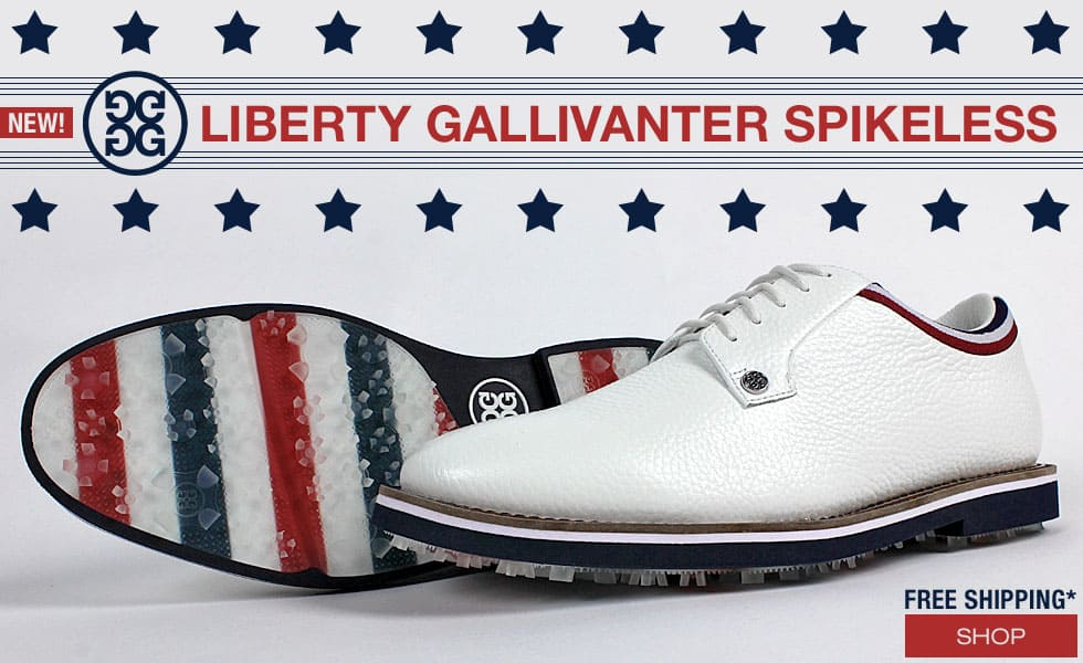 Limited Edition G/FORE Liberty Gallivanti Golf Shoes