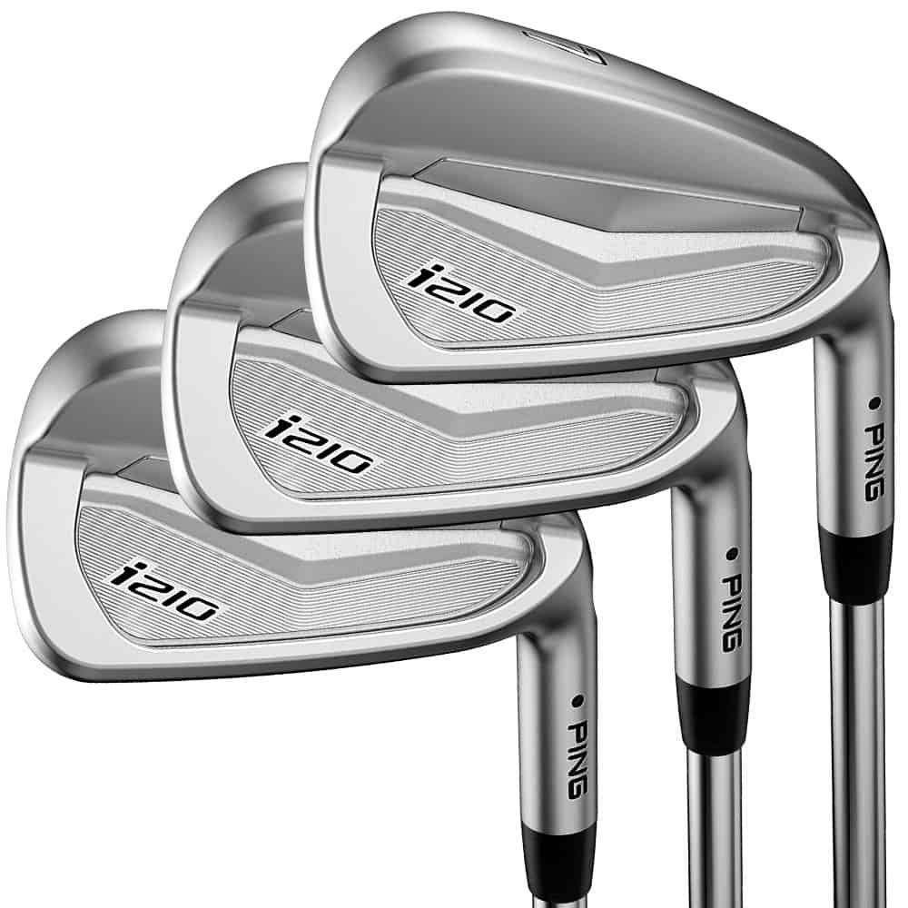 3 Ping i210 Iron 2018 with white background