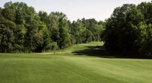 view of the tee at the 5th hole at Augusta National Golf Club