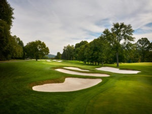 17th hole at Baltusrol Golf Course for the U.S. Open