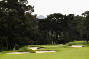 View of the 6th hole at Olympic Golf Club in San Francisco