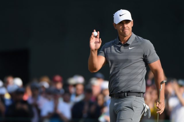 Brooks Koepka's Workout routine. Biceps, Bench press, lower body, and diet.