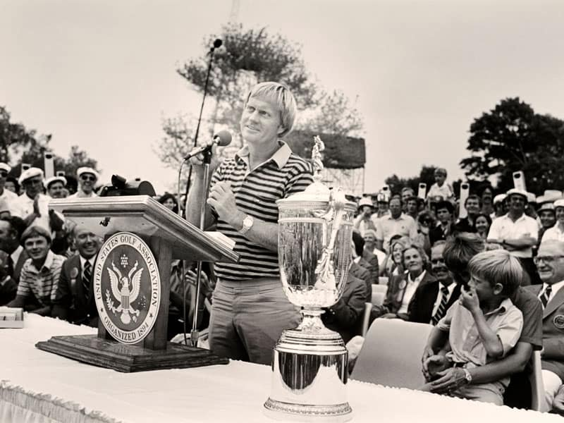 most us open wins. Jack Nicklaus