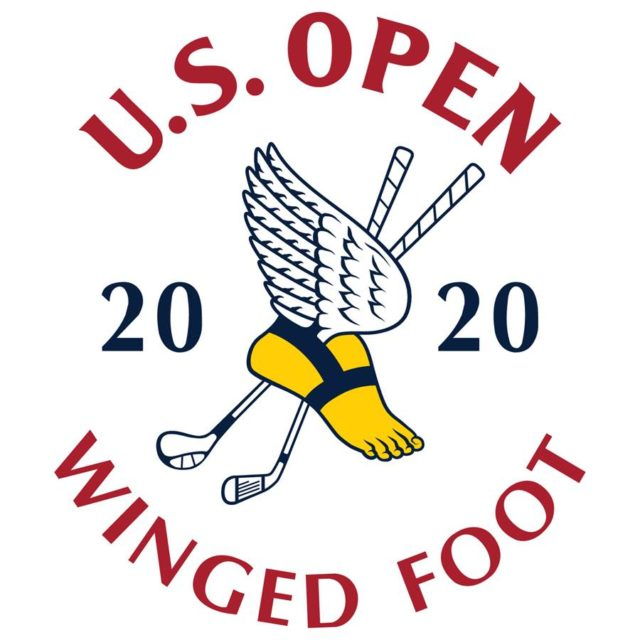 Logo for the 2020 golf U.S. Open at Winged Foot Golf Club